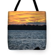 005 Awe In One Sunset Series At Erie Basin Marina Tote Bag