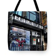 005 Bottoms Up And The Chip Strip Tote Bag