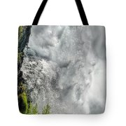 005 Niagara Falls Misty Blue Series Tote Bag