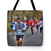 005 Turkey Trot 2014 Tote Bag