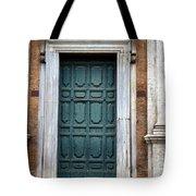 0053 Roman Door 2 Tote Bag