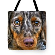 0054 Puppy Dog Eyes Tote Bag