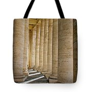 0056 Roman Pillars St. Peter's Basilica Rome Tote Bag