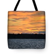 006 Awe In One Sunset Series At Erie Basin Marina Tote Bag