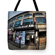 006 Bottoms Up And The Chip Strip Tote Bag