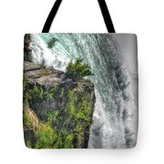 006 Niagara Falls Misty Blue Series Tote Bag