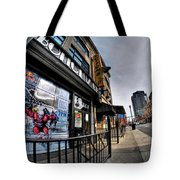 007 Bottoms Up And The Chip Strip Tote Bag