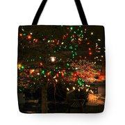 007 Christmas Light Show At Roswell Series Tote Bag
