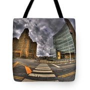007 City Hall And The Court House Tote Bag