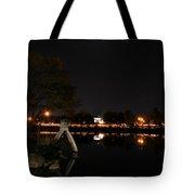 007 Japanese Garden Autumn Nights   Tote Bag