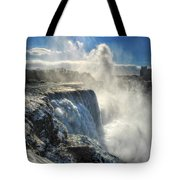 007 Niagara Falls Winter Wonderland Series Tote Bag