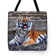 007 Siberian Tiger Tote Bag