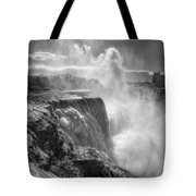 007a Niagara Falls Winter Wonderland Series Tote Bag