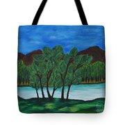 008 Landscape Tote Bag
