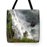 008 Niagara Falls Misty Blue Series Tote Bag