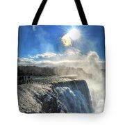 008 Niagara Falls Winter Wonderland Series Tote Bag