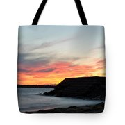 009 Awe In One Sunset Series At Erie Basin Marina Tote Bag