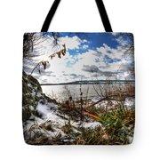 009 Grand Island Bridge Series Tote Bag