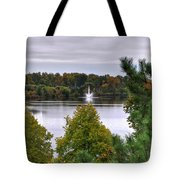 009 Hoyt Lake Autumn 2013 Tote Bag
