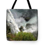009 Niagara Falls Misty Blue Series Tote Bag