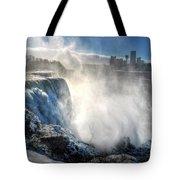 009 Niagara Falls Winter Wonderland Series Tote Bag