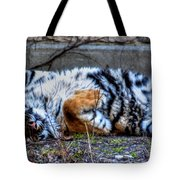 009 Siberian Tiger Wubb Me Bellwee Poweesh Tote Bag