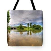 01 Reflecting At Hoyt Lake Series Tote Bag