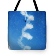 0107 - Air Show - Acanthus Tote Bag