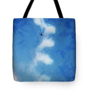 0107 - Air Show - Lux Tote Bag