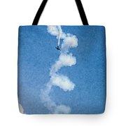 0107 - Air Show - Pastel Chalk 2 Hp Tote Bag