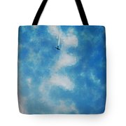 0107 - Air Show - Traveling Pigments Hp Tote Bag