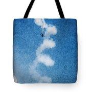 0107 - Air Show - Watercolor 1 Tote Bag