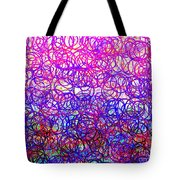 0144 Abstract Thought Tote Bag