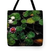 0148-lily -   Embossed Sl Tote Bag