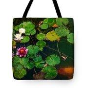 0148-lily -  Expressionist Plein Air Sl Tote Bag