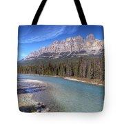 0149 Castle Mountain Tote Bag