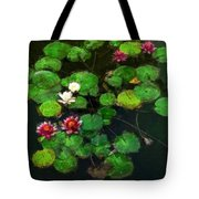 0151-lily -   Oil Stain Sl Tote Bag