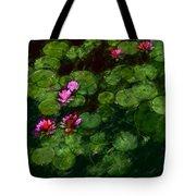 0151-lily - Chalk 1 Sl Tote Bag
