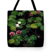 0151-lily - Embossed Sl Tote Bag