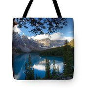 0164 Moraine Lake Tote Bag