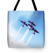 0166 - Air Show - Acanthus Tote Bag
