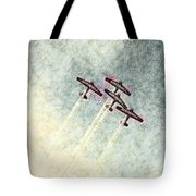 0166 - Air Show - Colored Photo 2 Hp Tote Bag