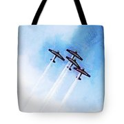 0166 - Air Show - Lux Tote Bag