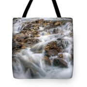 0190 Glacial Runoff 2 Tote Bag
