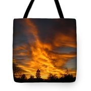 02 05 11 Sunset Two Tote Bag