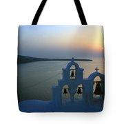 0210 Oia Sunset Tote Bag
