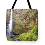 0237 Multnomah Falls Oregon Tote Bag
