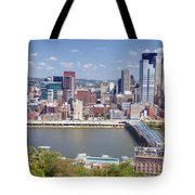 0240 Pittsburgh Pennsylvania Tote Bag