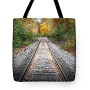 0276 Tracks Tote Bag