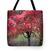 0277 Blazing Red Tote Bag